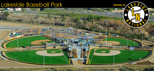 Lakeside Baseball Park Header