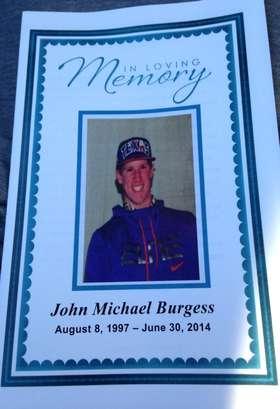 R.I.P. John Michael Burgess