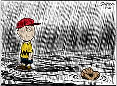 rained out charlie brown