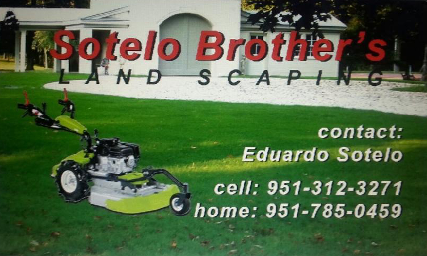 Sotelo Brother's Landscaping