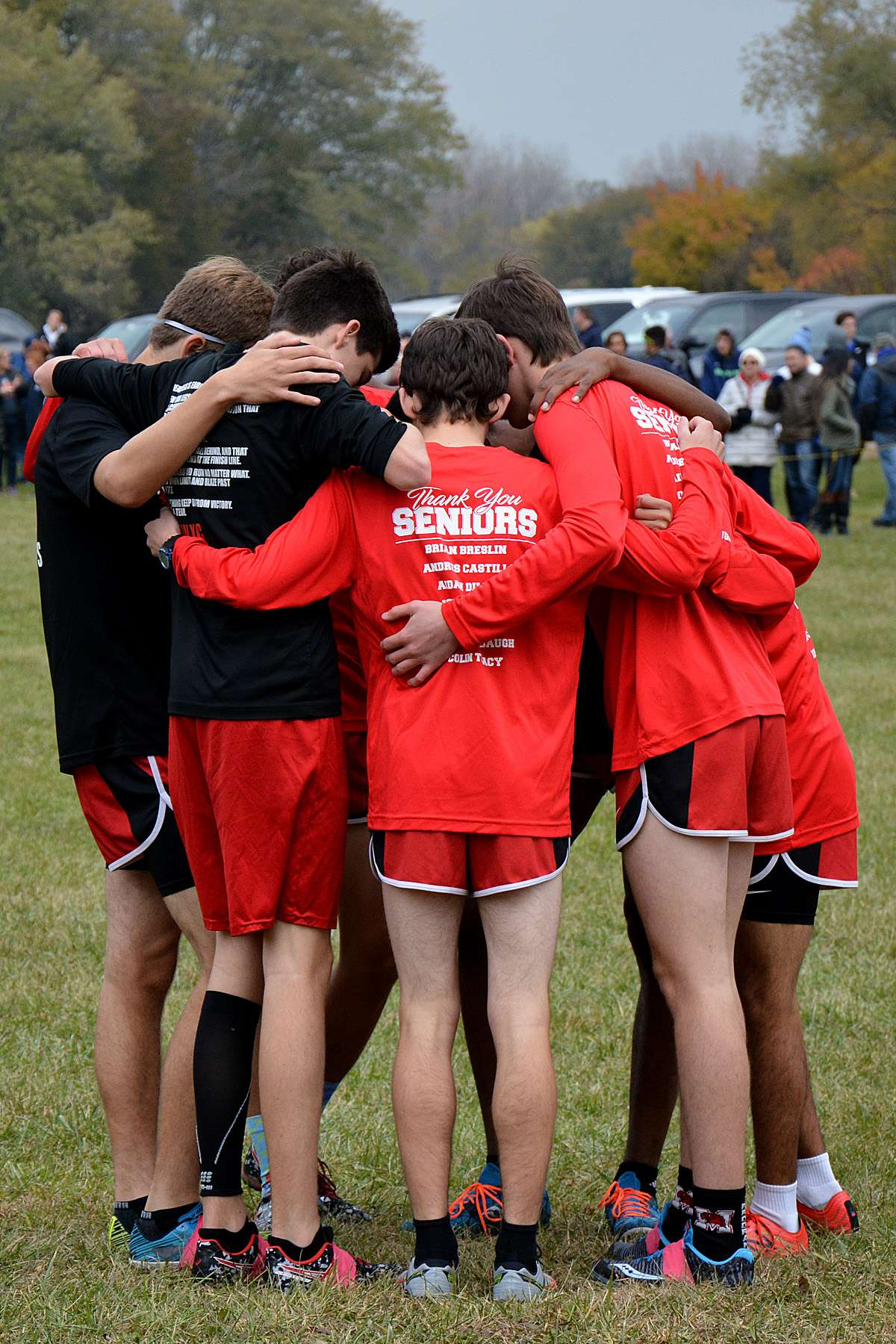 IHSASectionalTeamHuddle2018