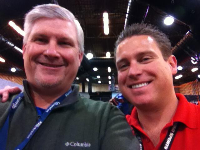 Dave Pherrin and Derek