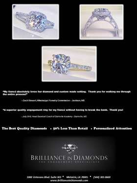 Brilliance in Diamonds