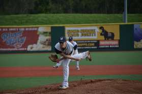 Nick Hall on the Mound
