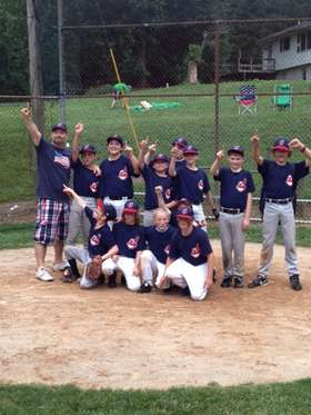 Indians 2013 Minor A Champs 2