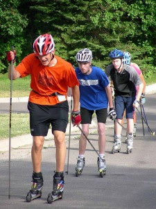 Summer Roller Skiers