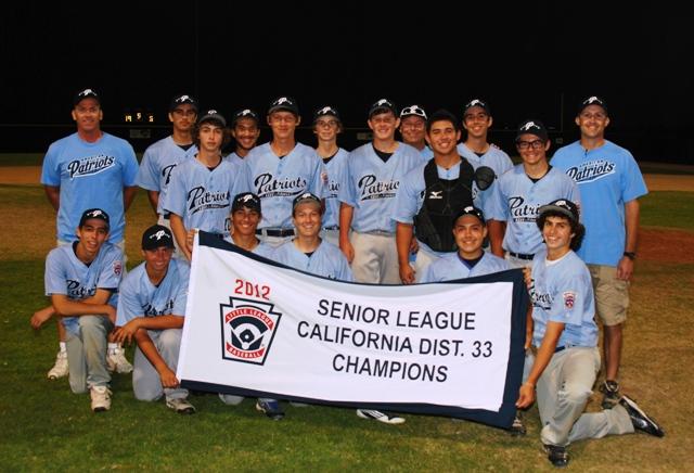 2012 Seniors D33 Champions