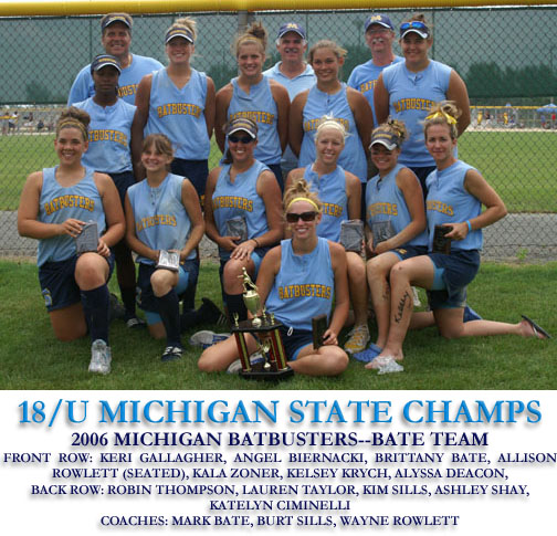 2006 18U State Champs