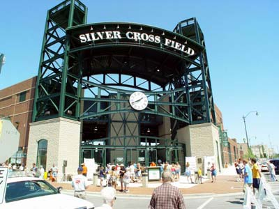 silver cross field