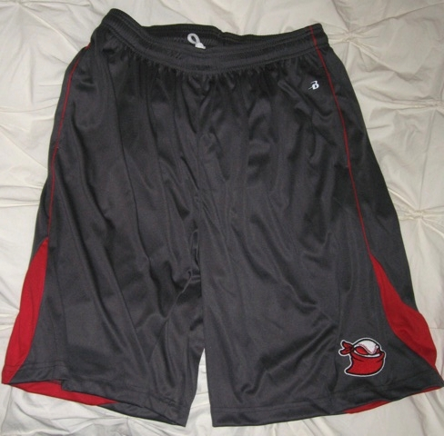 Shorts Graphite Red 2013