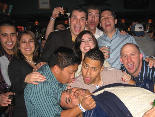 2006 awards party rico lies down