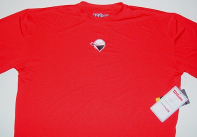 wilson dry fit under shirt red