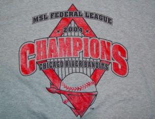 2004 river bandits championship t shirt