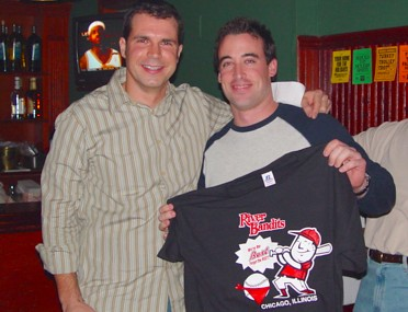 2004 awards party mike and sean