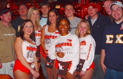 hooters nbl group 2004