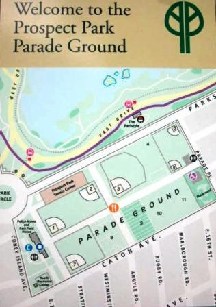 Parade Ground Map