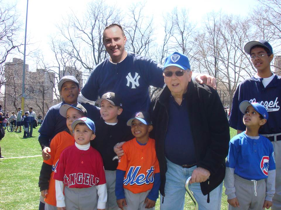 Johnny MrB and Little League Players