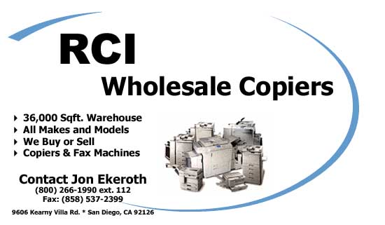 RCI WHOLESALE COPIERS,LLC