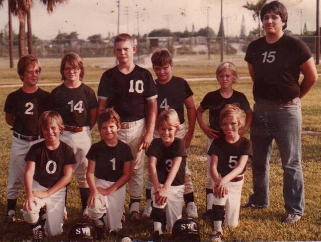 1982 Southwest LL Minors Black