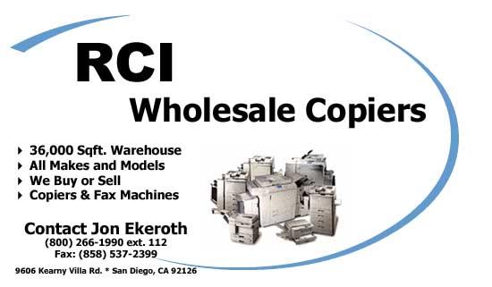RCI Copiers