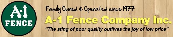 A-1 Fence Logo
