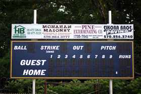 Bottom Field Scoreboard Sponsors