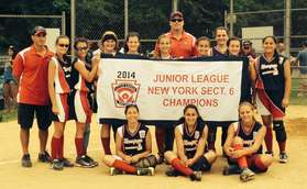 juniors softball sect 6 champ
