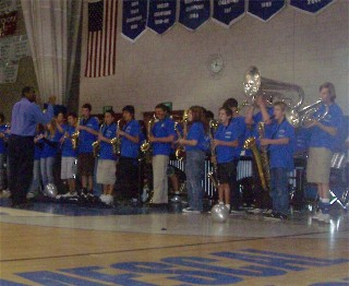 band pep rally