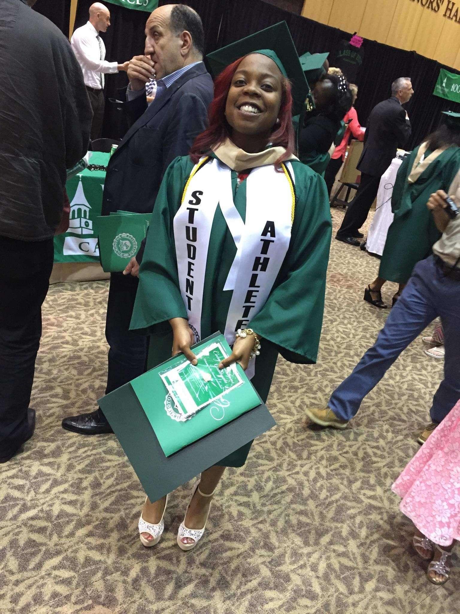 Taylor's Graduation pic