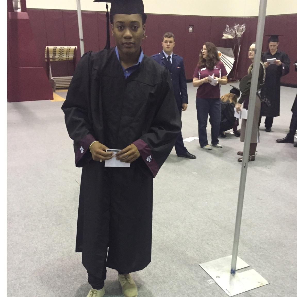 Achiri's Graduation pic