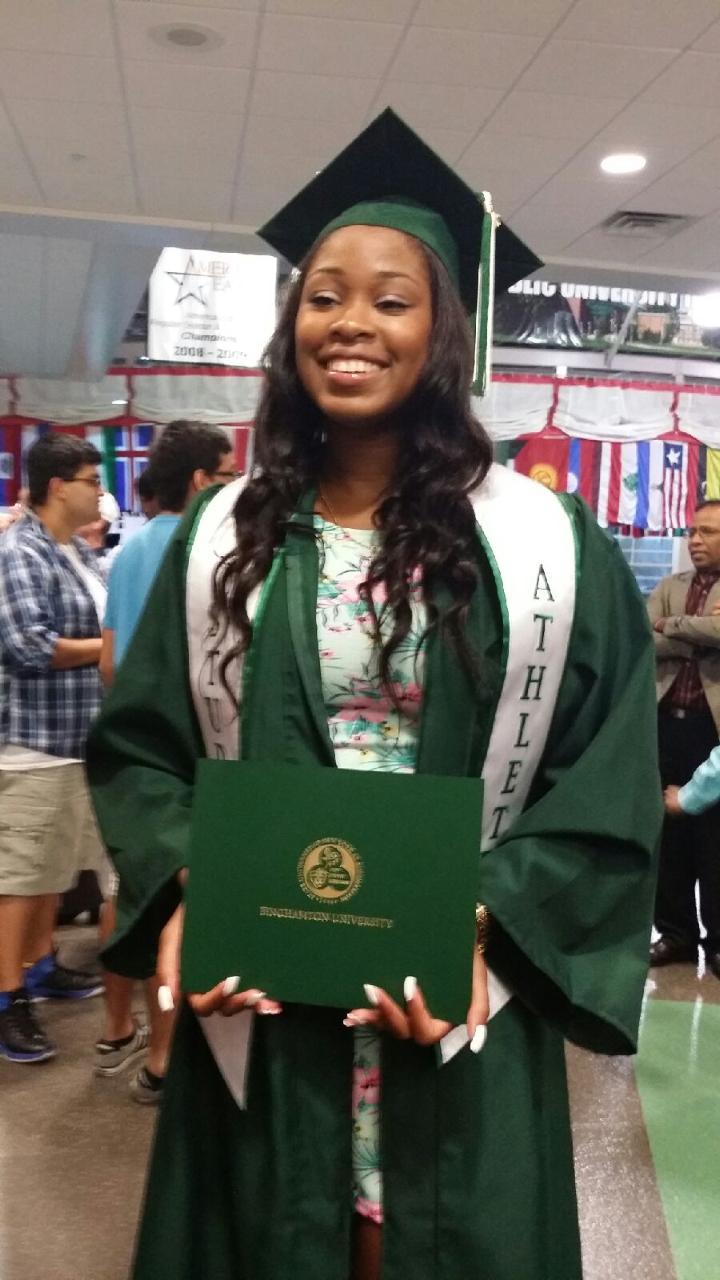 Sherae's Graduation pic