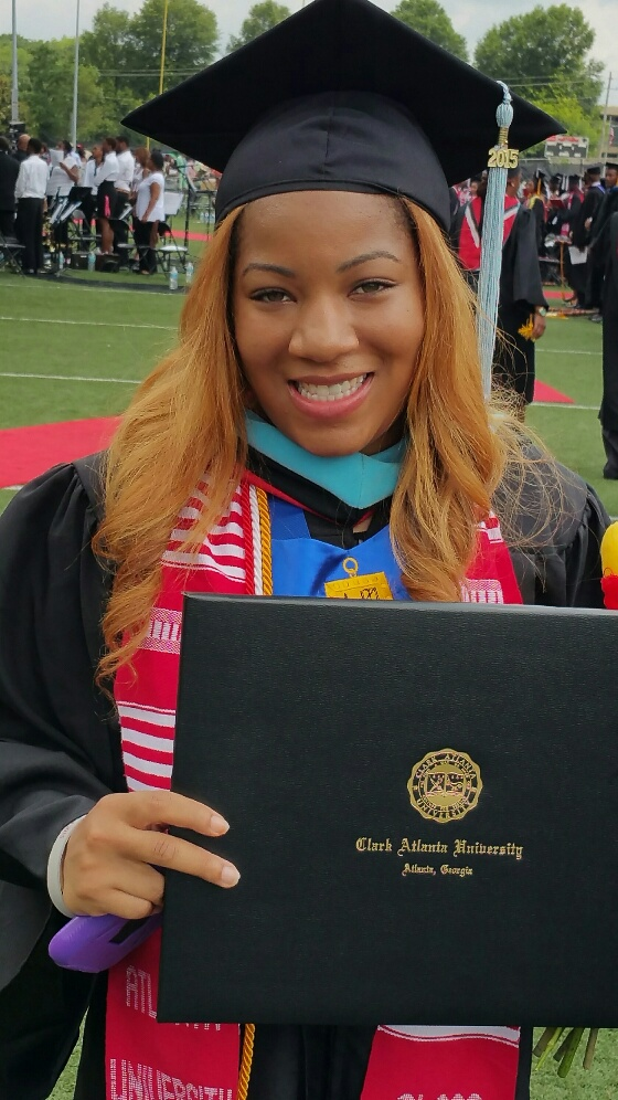 Shamecca's Graduation pic