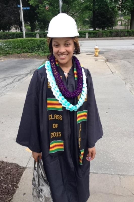 Kiera's Graduation pic
