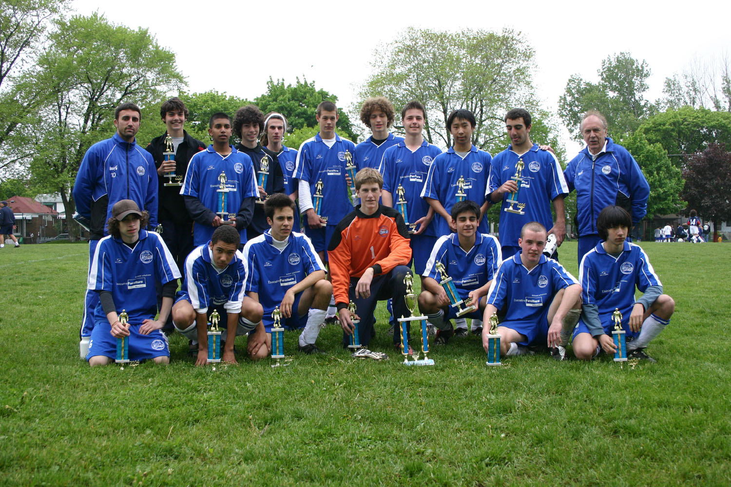 NORTH YORK COSMOS (1987) BOYS TEAM