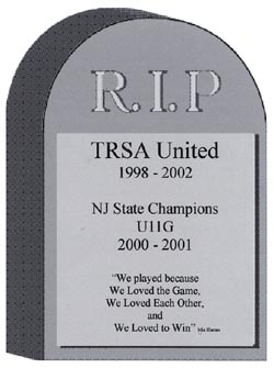 "Tribute to ""TRSA United 89/90G"""