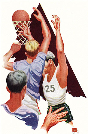 Basketball Art 1