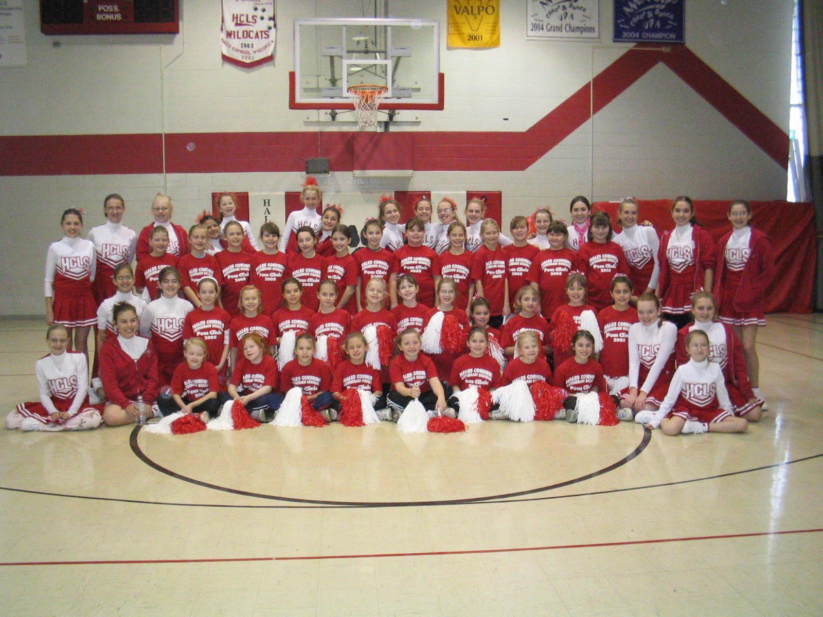 2005 Pom Clinic Team