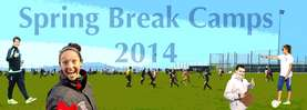 Spring Break Camp 2014 Banner