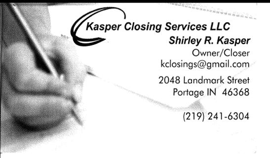 Kasper Closing