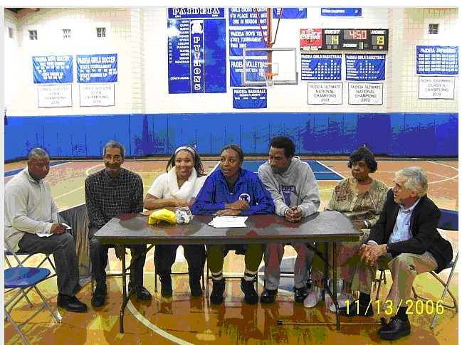 Ebonie Signing
