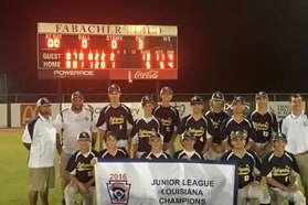 2016 Louisiana Junior League State Champ