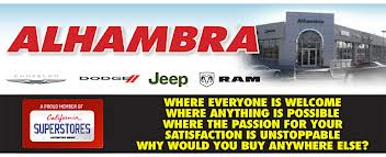 Alhambra Chrysler Jeep