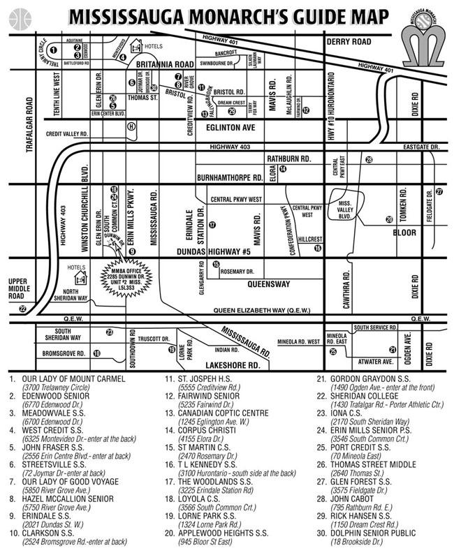 Mississauga Map