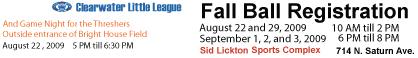 Fall Ball Banner