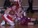 Sydney Bliss battles for a loose ball