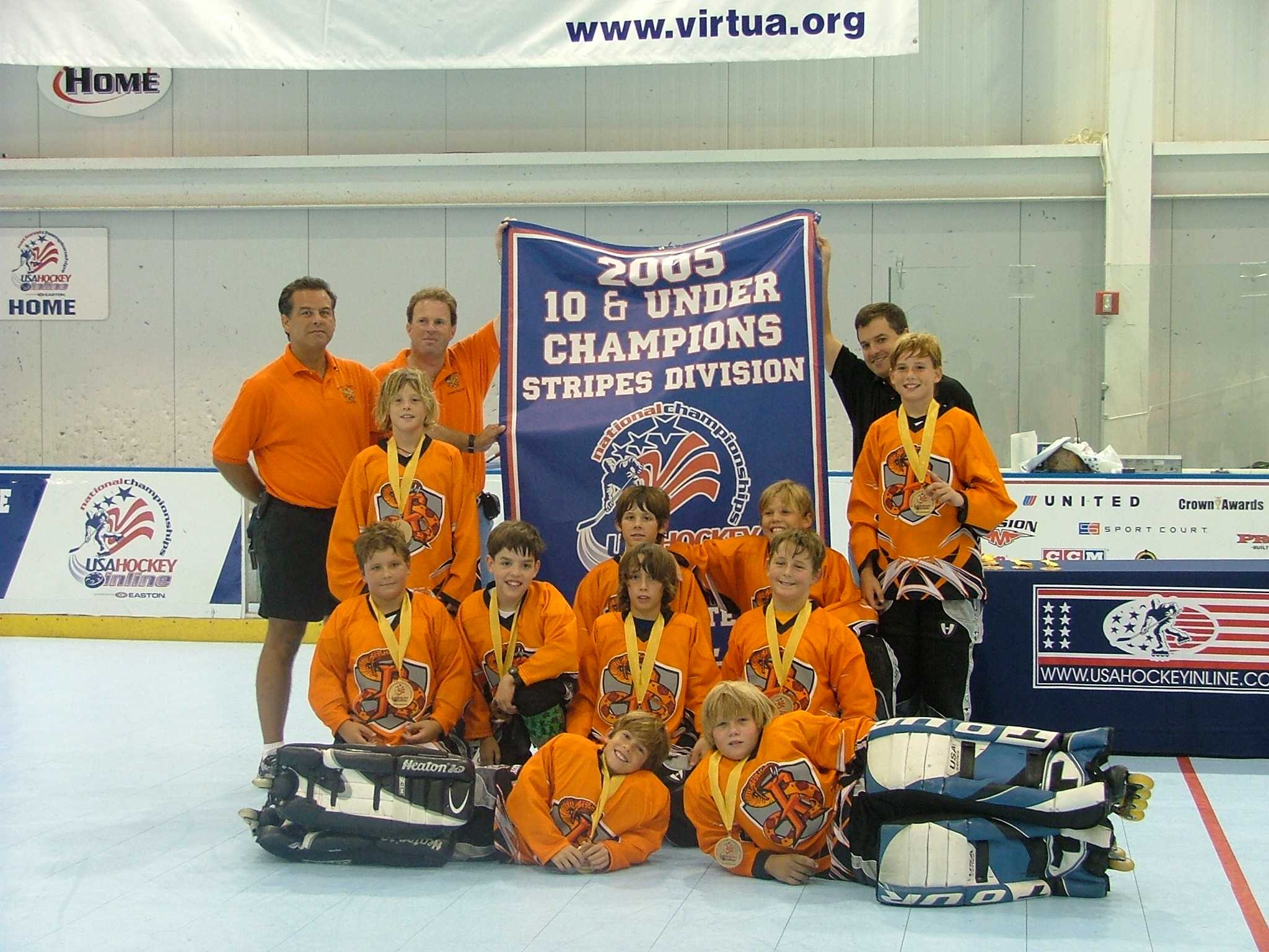 10U95 Rattlers Win Gold