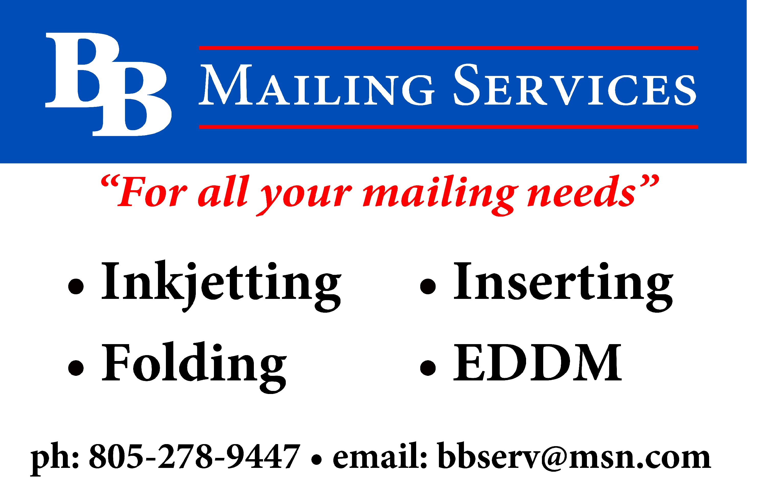 BB Mailing Services