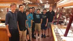 2013 Boys Banquet at OCB