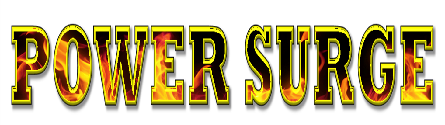Power Surge Fire Logo