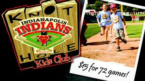Indians Knot Hole Kids Club